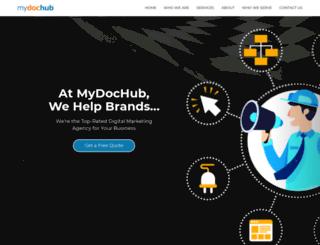 mydochub.com screenshot