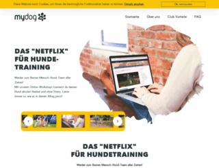 mydog365.com screenshot