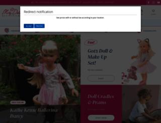 mydollbestfriend.co.uk screenshot