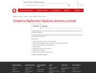 mydomain.ro screenshot