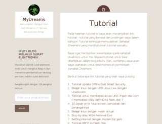 mydr34ms.wordpress.com screenshot