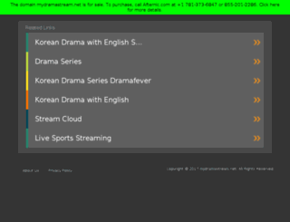 mydramastream.net screenshot