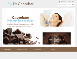 mydrchocolate.soundconcepts.com screenshot