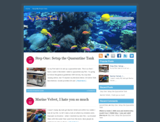 mydreamtank.com screenshot