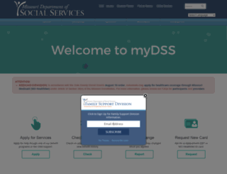mydss.mo.gov screenshot