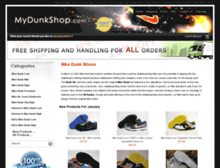 mydunkshop.com screenshot