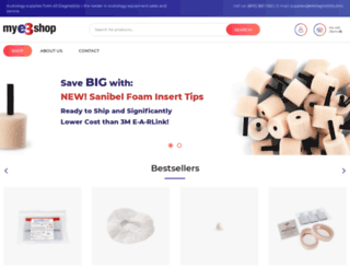 mye3shop.com screenshot