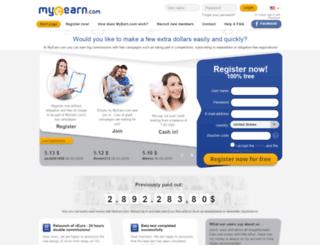 myearn.com screenshot