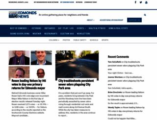 myedmondsnews.com screenshot