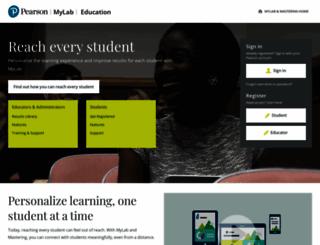 myeducationlab.com screenshot