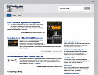 myelectrical.com screenshot