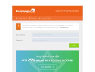 myemail.internetters.co.uk screenshot