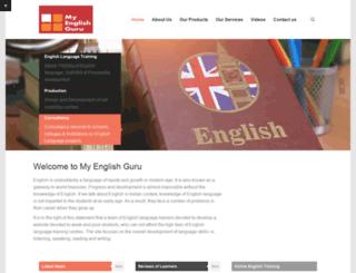 myenglishguru.com screenshot