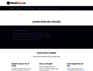 myenglishpages.com screenshot