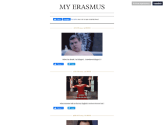 myerasmus.tumblr.com screenshot