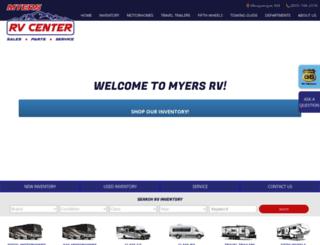 myersrv.com screenshot