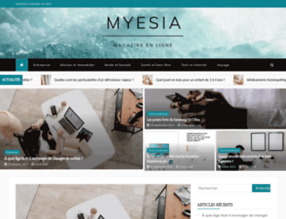 myesia.com screenshot