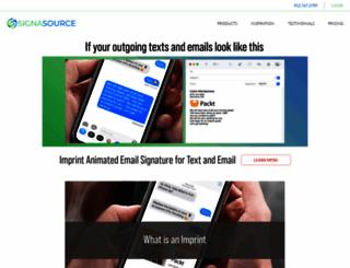 myesig.com screenshot