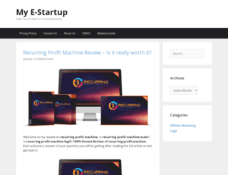myestartup.com screenshot