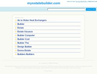 myestatebuilder.com screenshot