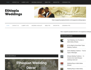 myethiopiawedding.com screenshot