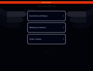 myeuropeancakes.com screenshot