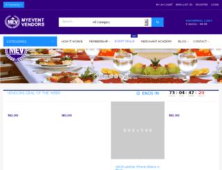 myeventvendors.com screenshot