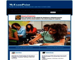 myexampoint.com screenshot