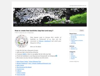 myexsistence.wordpress.com screenshot