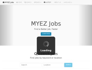 myezjobs.com screenshot