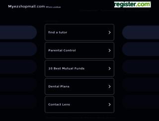 myezshopmall.com screenshot