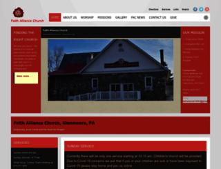 myfaithalliance.org screenshot