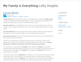 myfamilyiseverything.org screenshot