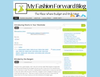 myfashionforwardblog.wordpress.com screenshot