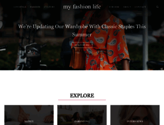 myfashionlife.com screenshot