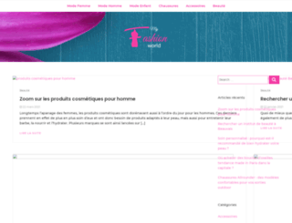 myfashionworld.fr screenshot