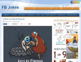 myfbjokes.com screenshot