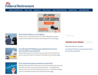 myfederalretirement.com screenshot