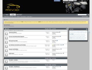 myfiatworld.com screenshot