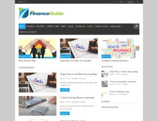 myfinanceguide.co.uk screenshot