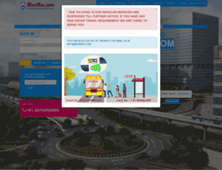 myfirstride.meribus.com screenshot