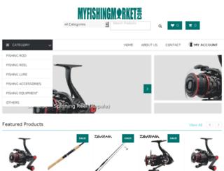 myfishingmarket.com screenshot