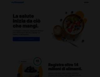 myfitnesspal.it screenshot