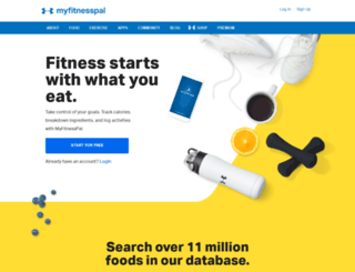 myfitnesspal.se screenshot