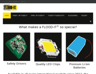 myfloodit.com screenshot