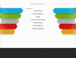 myflowershoppe.com screenshot