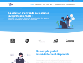myflyingbox.com screenshot