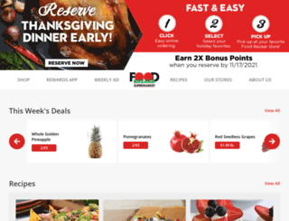 myfoodbazaar.com screenshot