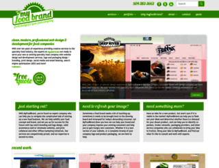 myfoodbrand.com screenshot