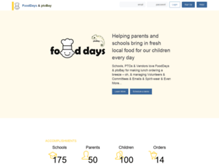 myfooddays.com screenshot
